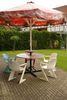 Sitzecke zum Frühstücken oder Grillen, Foto: Göller Business & Service UG
