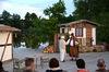Freilichtspiel auf der Seebühne in Wiesenfelden.