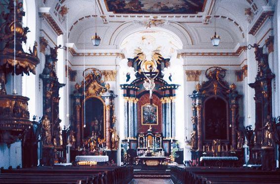 Stiftskirche St. Cyriakus - Innen