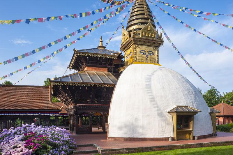 Der Nepal-Himalaya-Pavillon in Wiesent bei Regensburg