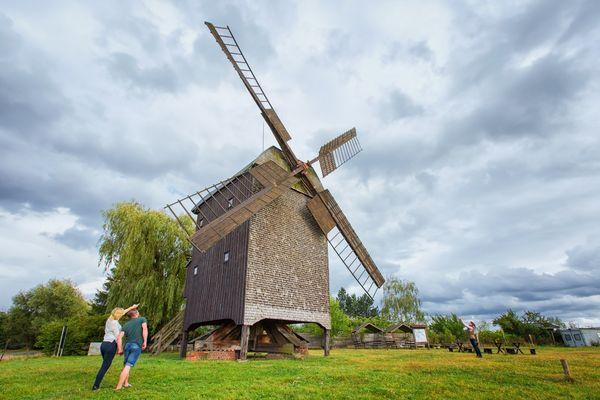 Bockwindmühle in Wilhelmsaue, Foto: Florian Läufer