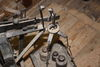 Waage in der Bockwindmühle in Wilhelmsaue, Foto: Michael Schön