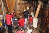 Kindergruppe in der Bockwindmühle in Wilhelmsaue, Foto: Michael Schön