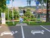 E-Ladesäule mit Stellplätzen am Kurgarten;Parkplatz Ecke Zum Kurgarten/Neuer Weg