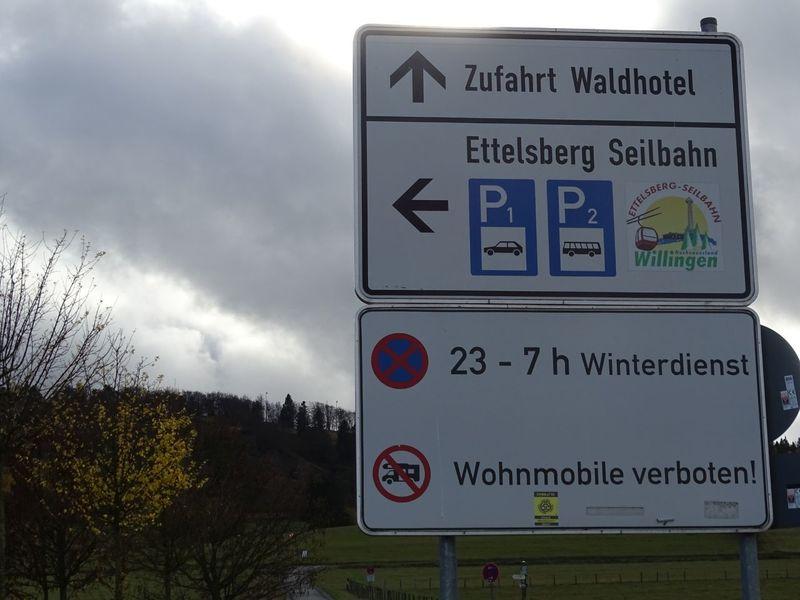 Zufahrt Parkplatz ESB