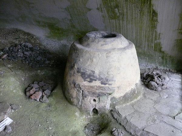 Eisenzeitlicher Schmelzofen