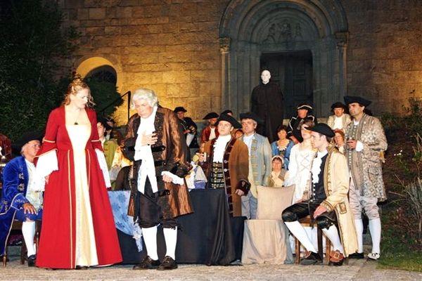 Szene aus dem Windberger Festspiel aus dem Jahre 2010