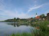 Blick auf den Erholungsort Windorf im Bayerischen Donautal