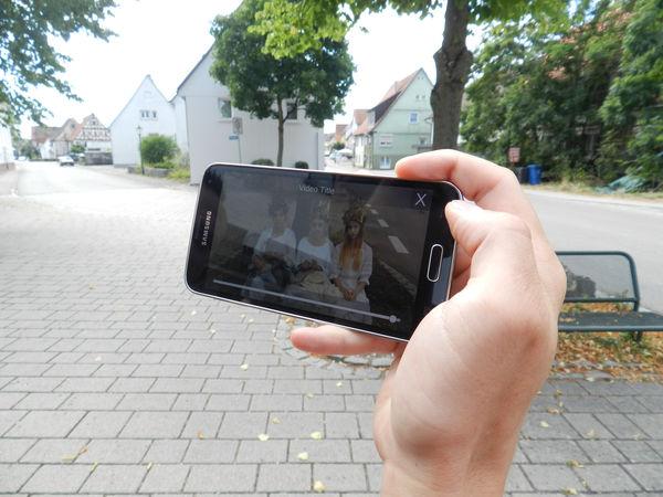 Einblick in die fertige App, ©Landestheater Württemberg-Hohenzollern Tübingen Reutlingen