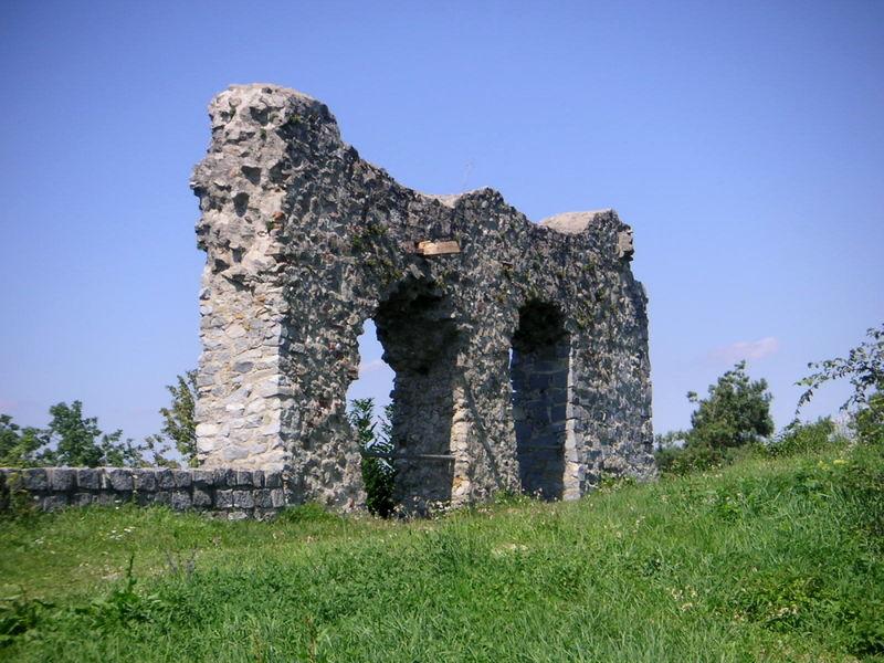Die Überreste der Burg Winzer im Deggendorfer Land