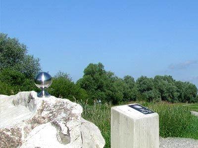 Planeten-Station am Donauplanetenweg im Deggendorfer Land