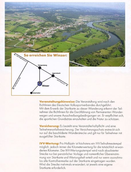 Infos über die Permanenten Wanderwege bei Winzer
