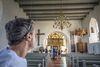 Innenaufnahme des Kirchenschiffs der St. Marien zu Witzwort