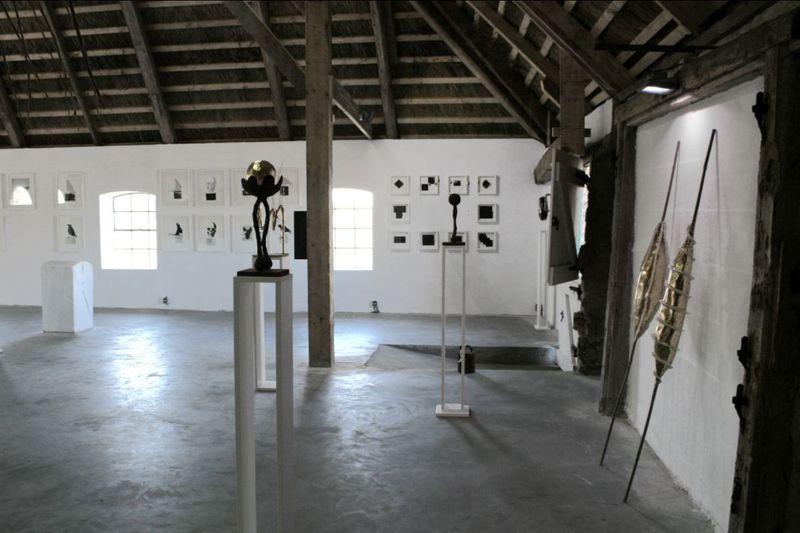 Wechselnde Ausstellungen in der Kunstbude2.0 bei Witzwort.