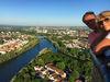 Ballonfahrt über Regensburg mit dem Flugzentrum Bayerwald