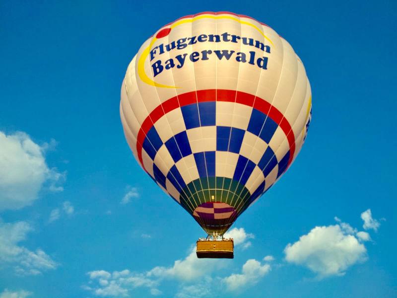 Ballonfahrt mit dem Flugzentrum Bayerwald