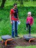 Klein und Groß bleibt fit am Bewegungsparcours der Gemeinde Niederaichbach / Wörth an der Isar