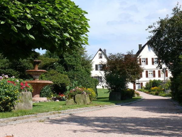 Der alte Kurgarten-Brunnen