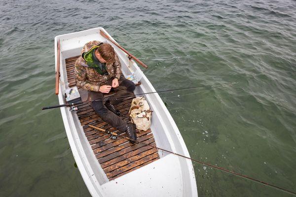 Angler im Seenland Oder-Spree, Foto: Seenland Oder-Spree e.V./Florian Läufer