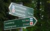 Oderlandweg, Wegweisen Cöthen