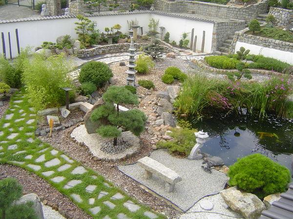 Teilansicht Japanischer Garten, Foto: Mario Kurzweg