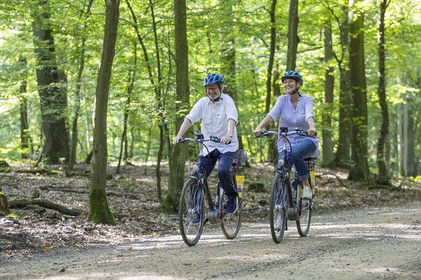 Radfahrer im Seenland Oder-Spree, Foto: TMB-Fotoarchiv, Andreas Franke