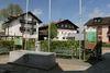 Der Rathausplatz in Zandt