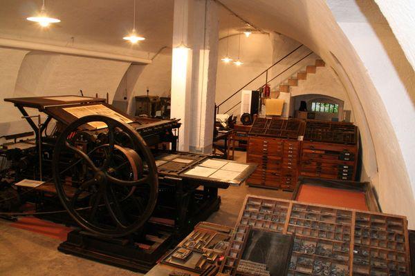 Die historische Buchdruckerei der Schwarzwälder Post in Zell am Harmersbach