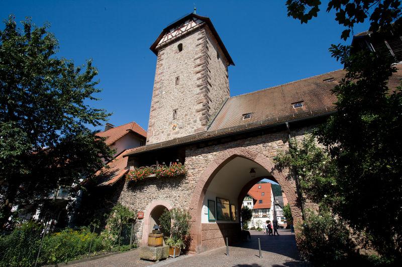 Storchenturm Museum Urlaubsland Baden Württemberg