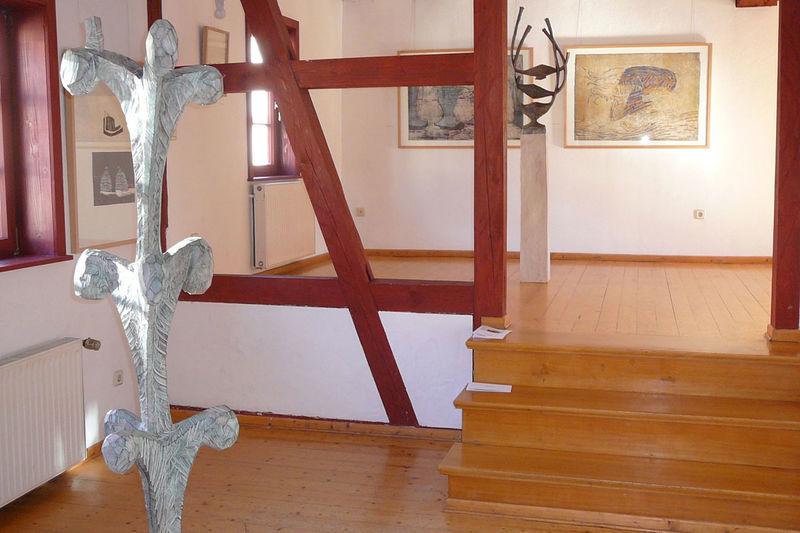 Blick in die Galerie im Bürgerhaus Zella-Mehlis