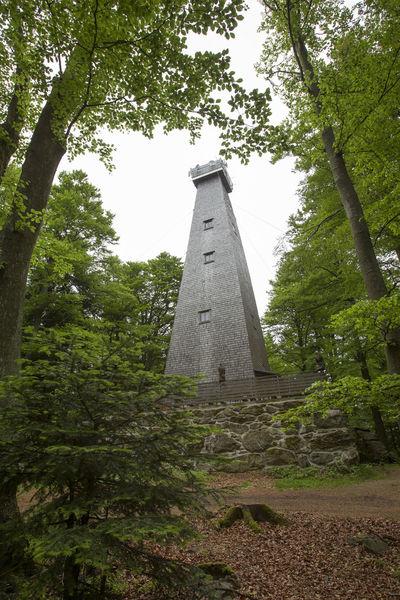 Der 25 m hohe Aussichtsturm am Brotjacklriegel mit Turmstüberl