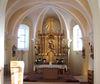 Barocker Hochaltar in der Pfarrkirche Zenting