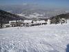 Blick auf den Sturmriegellift im Skigebiet Sonnenwald am Brotjacklriegel