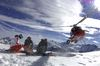 Heli-skiing with Air Zermatt.