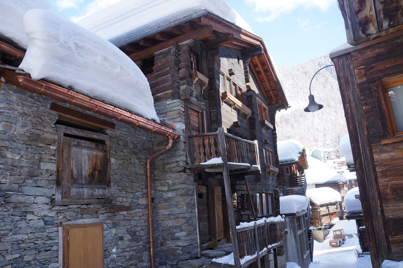 Old Part Of The Village Zermatt Switzerland
