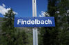 The Findelbach stop is 1,774 m above sea level.