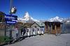Die Station Rotenboden liegt zwischen Riffelberg und Gornergrat