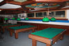 Country Bar, Zermatt: Good light for good pool or billiards games.