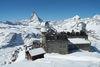 La vue depuis la plateforme panoramique, en amont du 3100 Kulmhotel Gornergrat, s'avère inoubliable.