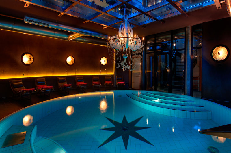 Indoor Pool Spa Hotel Coeur Des Alpes Zermatt Switzerland