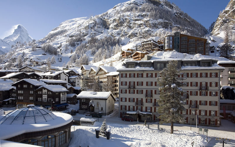 Historic and authentic: the Hotel Monte Rosa. The story of mountaineering in Zermatt began here.