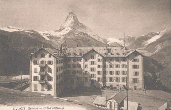 The Grand Hotel Riffelalp opened on 10 July 1884.