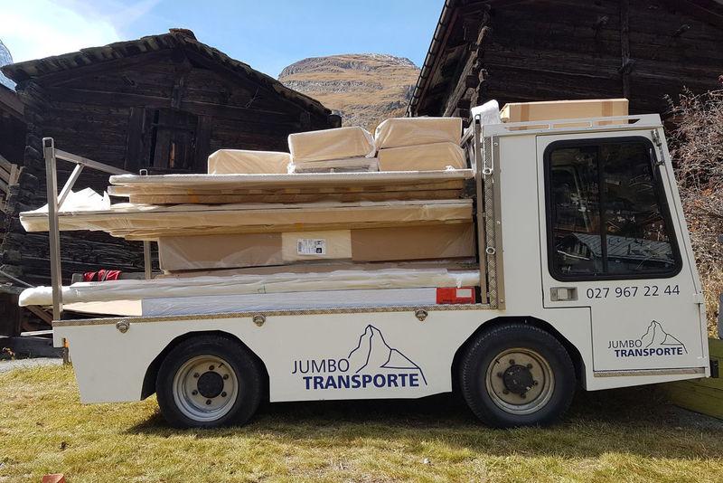Jumbo Transport Ag Zermatt Schweiz