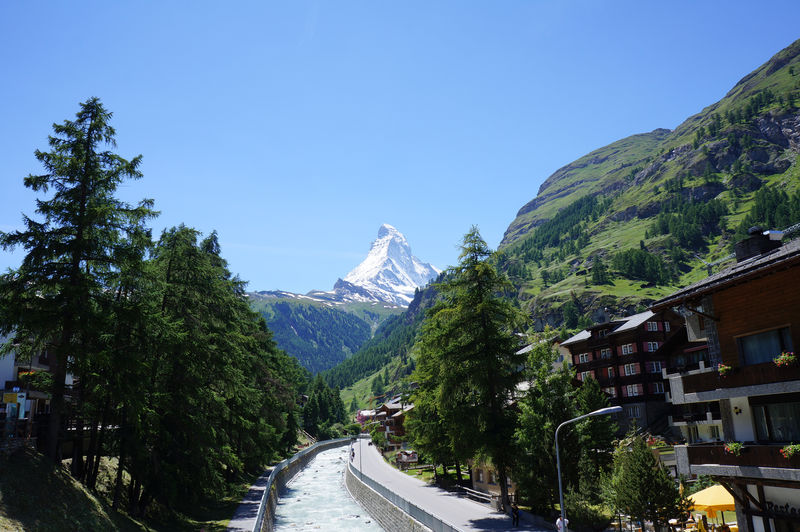The view from here to the Matterhorn is one of the best-known and most popular.