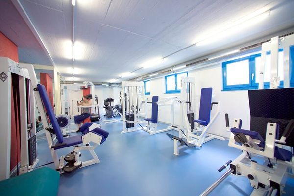 Important training equipment is available to visitors over 130 m².