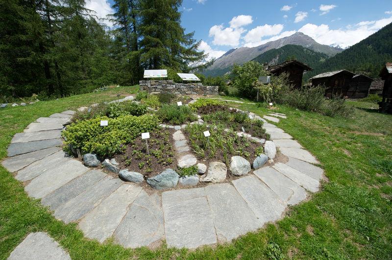 Jardin aux plantes ricola zermatt suisse for Jardin aux plantes