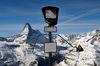 Die Aussicht auf das Matterhorn ist grandios. Dazu die Peak Collection – eine künstlerische Auseinandersetzung mit den umliegenden Bergriesen.