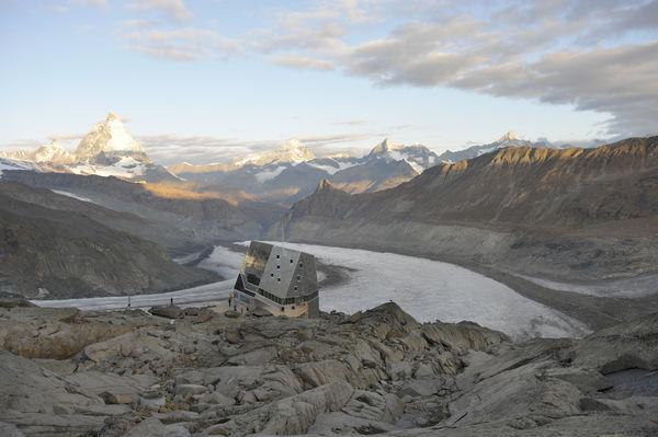 Berghütten und SAC Hütten