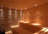 The spa area at the Spa Hotel Astoria offers a steam bath, sauna and Saunarium.