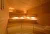The spa area at the Spa Hotel Astoria offers a steam bath, sauna and Saunarium.